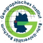 Logo Geografisches Institut Ruhr Universität Bochum
